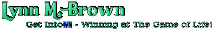 Lynn M. Brown – Get Intoit Logo